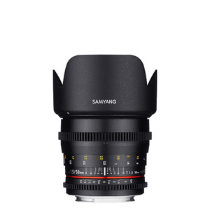 [SAMYANG] Cine 50mm T1.5 VDSLR AS UMC